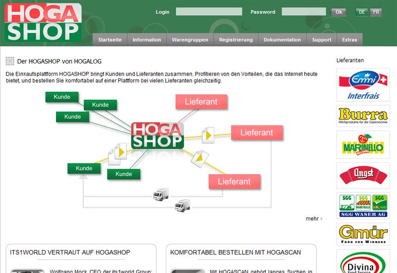 Die Besonderheit des Konzeptes: Bestellungen bei mehreren Lieferanten in einem System