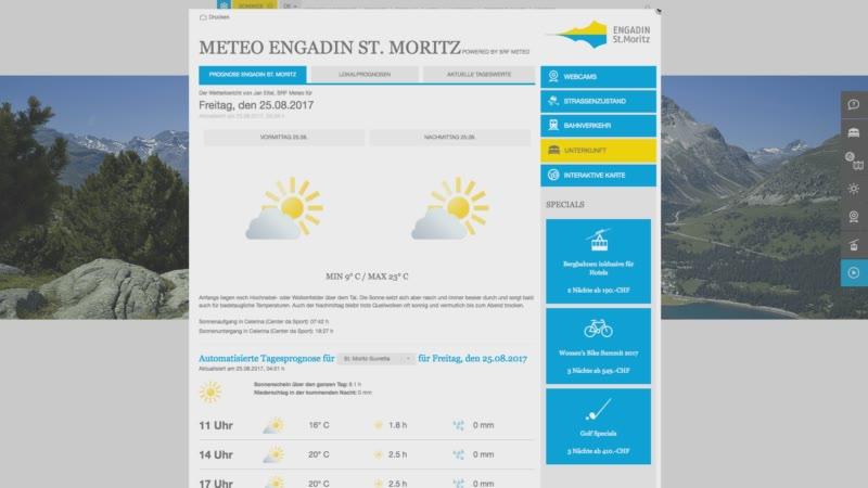 Die umfassende Wetterseite täglich frisch per Newsletter verschickt